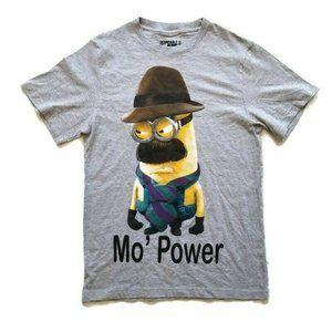 Despicable me Minion Gray T Shirt Men Size S